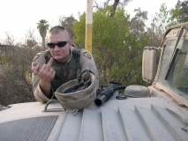 Sgt. Hall and his opinion of Iraq