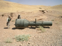 Mortars find an SA-3