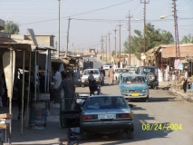 Part of market street, Al-Bassi