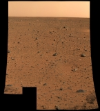 First color photo of Mars - Mars Exploration Rover 'Spirit'