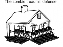 Zombie-treadmil-defense