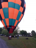 Hot air balloon again