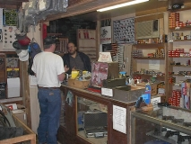 Inside Tony's gun shop
