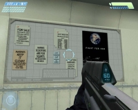 Halo bulletin board