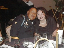 Spc. Vera and his wife