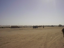 1-27's section of Camp Virginia, Kuwait