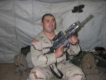 Cpt. Flores and his M4