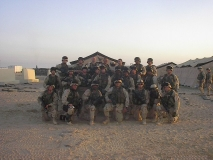 Group photo of HHC mortars, 1-27 INF