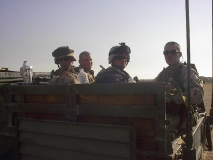 QRF team in the back of my truck