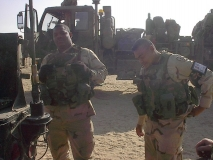 Ssg. Warner and Sgt. Plante
