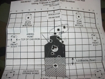 Zeroing my M4 at the range